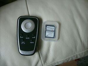 RENAULT TOM TOM SD REMOTE CONTROL AND SD CARD 9024 R