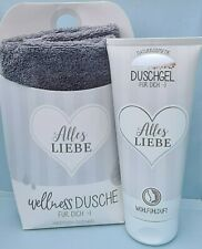 """Relax-Geschenk-Set, Wellness Dusche, """"Alles Liebe"""", Naturkosmetik, Duschgel"""