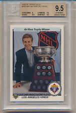 1990 Upper Deck Wayne Gretzky (Art Ross Trophy Winner) (HOF) (#205) BGS9.5 BGS