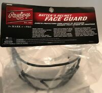 Rawlings Batters Helmet Face Guard NOCSAE Baseball Softball NEW BBWG