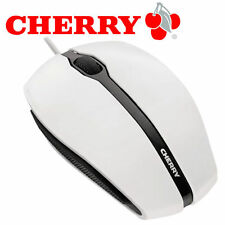 CHERRY GENTIX -  Maus USB  optisch - 3 Tasten - verkabelt -  USB - weiß - NEU