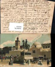 622319,Alger Algier La Statue du Duc d Orleans et la Mosquee Djemaa Djedid Alger