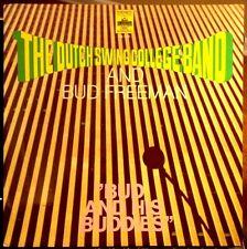 "BUD FREEMAN LP & DUTCH SWING COLLEGE BAND - "" Bud And His Buddies "" - 1975, EX"