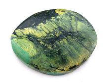 65.29 Carat Green Spiderweb Turquoise Cab Cabochon Gem Stone Gemstone B20A35