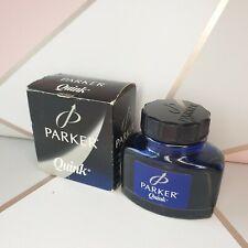 More details for vintage parker super quink ink in original box blue black ink made in france