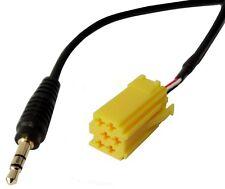 Adaptador cable AUX jack 3.5mm de autoradio de Fiat Grande Punto Alfa Romeo 159