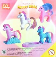McDonalds Happy Meal Toy 1998 My Little Pony Plastic Horse Toys - Various