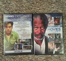 6 Film Collection: Movies of Excellence: Morgan Freeman V.1 & 2- Free Shipping!