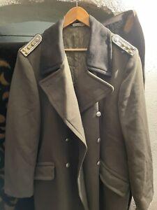 Original DDR NVA Offiziersmantel Unifform Effekten Gr. m52-1