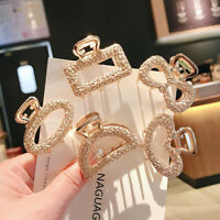 Fashion Snap Geometry Hair Claw Hairpin Crab Jaw Clip Barrette Women Accessories