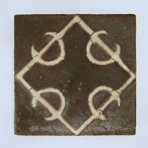 Antique Decorative Grueby Tile
