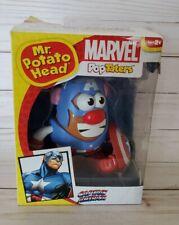 CAPTAIN AMERICA AVENGERS MR POTATO HEAD TOY POP TATERS MARVEL In Box Rare