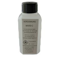 ➔ Diluant, Dilution 100ml MS / 50 C, pour mélanger & diluer de Mastic à bois