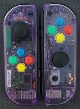 New Nintendo Switch Atomic Purple Joy Con Controllers! SNES/Rainbow Buttons!