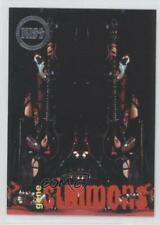 1998 Cornerstone KISS Series 2 Box Topper Alive Puzzle #U4 Gene Simmons Card 2a8