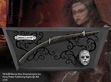 Bellatrix Lestrange Wand, Wall Display & Mini Mask Noble NN7976 Harry Potter New