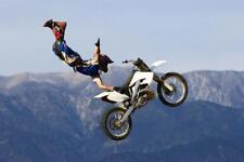 FREESTYLE MOTOCROSS POSTER 24x36 SHRINK WRAPPED BIKES STUNTS FMX 1358