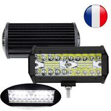 2X 120W LED Phare Barre Projecteur de Travail Spot et Flood Camion 4x4 SUV