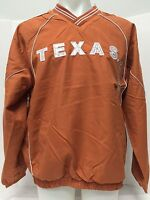 NEW NCAA UT TEXAS University Texas Longhorns Adult Pull Over Jacket W/ Pockets