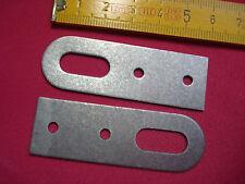 4 attaches porte manteaux 60 par 20 mm (réf B)  étagère , meuble, ...