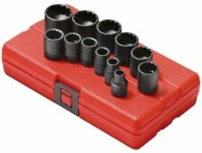 Sunex 12pc 3/8 SAE 12 Point Shallow Impact Sockets Set Tools Drive Standard 3674