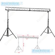 STRUTTURA Light Bridge Set supporto ponte traliccio luci fari dj *KaotikaStore*