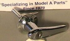 1928-1931 Model A Ford Locking Decklid or Rumble Lid Handle w/2 Keys