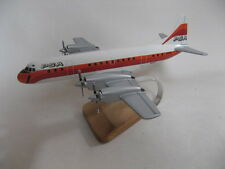 Lockheed L-188 Electra PSA Airplane Desktop Wood Model B