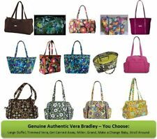Vera Bradley Large Duffel, Trimmed Vera, Mill, Get Carried Away, Grand, Baby Bag