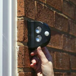 Battery Power Motion Sensor Security LED Light | Garden Outdoor Indoor PIR