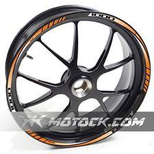 Sticker Wheel Rim Z 1000 Orange NLEN Kawasaki  Z1000 1000ABS ABS tape stripes de
