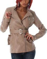 Cappotti e giacche da donna alte marrone