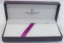 Philippe Charriol Geneve Empty Pen Set Box 100% Original - Excellent Condition
