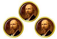 President Rutherford Hayes Marqueurs de Balles de Golf