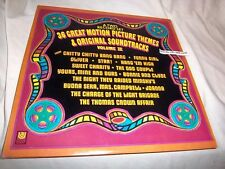 s/t 36 GREAT MOTION PICTURE THEMES & ORIG SOUNDTRACKS VOL II (2 DISCS) NM/VG+ LP