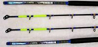 Pair (2) Fladen Celtic Roller Tip Boat Sea Rod 2.1m Fishing 30-40lbs 7ft Braid