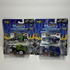 Lot of 2 Maisto Muscle Machines Die Cast Cars '29 Ford Model AA & '68 Dodge Dart