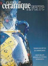 La revue de la céramique et du verre N°66 septembre - octobre 1992