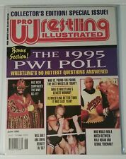 PRO WRESTLING ILLUSTRATED - 1995 PWI POLL - JUNE 1995