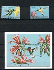 Congo - Hummingbirds. Set Of 3. MNH. OG.  #02 CONGOs3