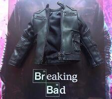 THREEZERO Breaking Bad brba Jesse Pinkman Negro Cuero Chaqueta Suelto Escala 1/6th
