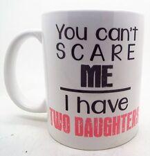 No Se Puede Scare Me i Have Dos Hijas Taza Regalo Día Del Padre Cumpleaños Taza