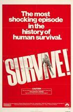 Hugo Stiglitz SURVIVE(1976) 35mm EXPLOITATION Rene Cardona film trailer