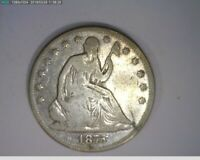 1875 50c Seated Liberty Half Dollar ( 18-298 M4 )