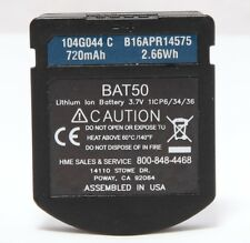 Hme BAT50 720mAh Lithium Ion Battery for Wireless Drive Thru Headset