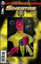 Sinestro Futures End #1 One-Shot 3D Cover Comic Book 2014 New 52 - DC