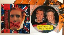 Sex Pistols - The Swindle Continues - 1988 Japan Picture Disc 35204-5-45 (NM)