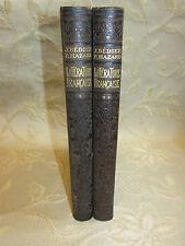 2 Antique Books Histoire De La Litterature Francaise Illustree - 1923 - 1924