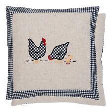 Clayre fed funda de almohada cojín funda Pascua osterbezug pollitos pollos beige 40*40 cm