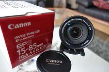 Canon EF-S 15-85 mm f/3.5-5.6 IS USM Zoomobjektiv +++ Top-Zustand +++